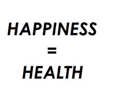 happiness linked to health